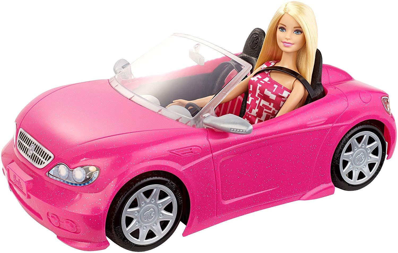 voiture télécommandée barbie rose pour fille